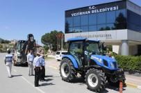 VEZIRHAN - Vezirhan Belediyesi Araç Filosuna Yeni Araç Eklendi