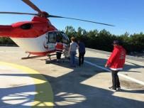 AMBULANS HELİKOPTER - Ambulans Helikopterler 26 Günlük Bebek İçin Havalandı