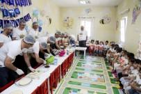 MALTEPE BELEDİYESİ - Babalar Çocukları İçin Pasta Yaptı