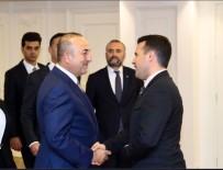MAKEDONYA - Bakan Çavuşoğlu Makedonya Başbakanı Zaev İle Görüştü