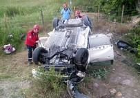 Balıkesir'de İftar Saati Kaza Açıklaması 2 Yaralı