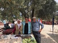 ÖZLEM ÇERÇIOĞLU - Başkan Çerçioğlu Babalar Günü'nü Vatandaşlarla Kutladı