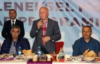 KIRAÇ - Başkan Sekmen Gazetecilerle İftarda Bir Araya Geldi