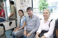 RAYLI SİSTEM - Başkan Türel Tramvayda Vatandaşı Dinledi