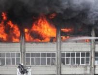 SANAYİ SİTESİ - Bayrampaşa'da sanayi sitesinde yangın