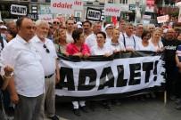 TUR YıLDıZ BIÇER - CHP İzmir Teşkilatından Manisa'da 'Adalet Yürüyüşü'