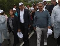ZÜLFÜ LİVANELİ - Livaneli CHP'nin yürüyüşüne katıldı