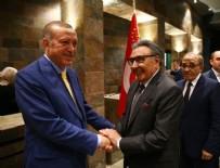 AYDIN DOĞAN - Cumhurbaşkanı Erdoğan ile Aydın Doğan'dan samimi poz