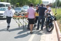 FıRAT ÜNIVERSITESI - Elazığ'da Trafik Kazası Açıklaması 1 Yaralı