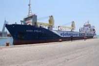 Gazzeli Çocukların Bayram Hediyesi Mersin Limanı'ndan Yola Çıktı