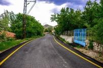 HEKİMHAN - Güzelyurt'ta 7 Kilometrelik Asfalt Çalışması Yapıldı