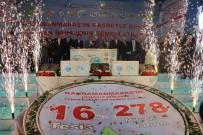 TEMEL ATMA TÖRENİ - Kahramanmaraş'ta 278 Milyonluk 16 Tesisin Temeli Atıldı