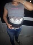 KADIN POLİS - Karnına Esrar Sarıp Hamile Süsü Veren Kadın Tutuklandı