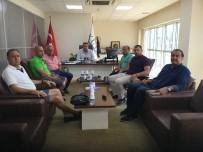 TİCARET ODASI - Kuşadası Ticaret Odası Çarşı Esnafı Temsilcileriyle Toplantı Yaptı