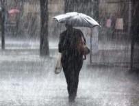 SU BASKINI - Meteorolojiden kuvvetli yağış uyarısı