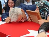 ŞEHİT UZMAN ÇAVUŞ - Ordu'da şehit uzman çavuş Tiken'i 10 bin kişi uğurladı