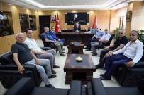 MUSTAFA AYDıN - Tekirdağspor'un Yeni Yönetimi Emniyet Müdüründen Bilgi Aldı
