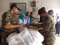 SABAH KAHVALTISI - Askerlerin Yemekleri Belediyelerden