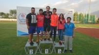 ERDEMIR - Aydın Atletizm Şampiyonasına Damga Vurdu