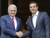 ALEKSİS ÇİPRAS - Başbakan Yıldırım ve Çipras'tan ortak açıklama