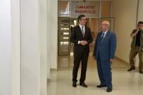 BAŞSAVCı - Başkan Albayrak'tan Çorlu Adliye Binasını İnceledi