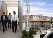 ŞEHITKAMIL BELEDIYESI - Başkan Fadıloğlu Umut Cami Ve Sosyal Tesisi İnşaatını İnceledi