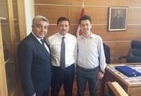 Başkan Fatih Çalışkan'dan Milletvekili Hamza Dağ'a Tebrik Ziyareti