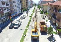 KANALİZASYON ÇALIŞMASI - Denizli Büyükşehir'den Acıpayam'da Alt Yapı Atağı
