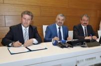 ERCIYES ÜNIVERSITESI - Erciyes Üniversitesi'nde Kütüphane Yapım Protokolü İmzalandı