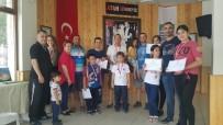 SAVUNMA SPORU - Foça'da Karate Kursu Alanlara Katılım Belgesi