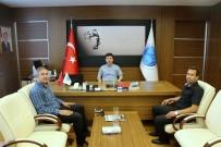 TÜRKIYE FUTBOL FEDERASYONU - Futbol Hakemleri Temsilcilerinden Rektör Karacoşkun'a  Ziyaret