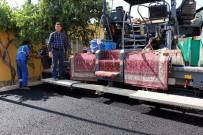 ÇARıKLAR - Germencik Belediyesi 7 Eylül Mahallesinde Asfaltlama Çalışmalarına Başladı