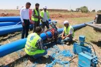 ALT YAPI ÇALIŞMASI - Harran'da Alt Yapı Çalışmaları Devam Ediyor