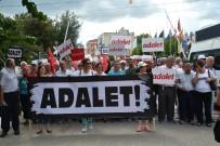 ALİ GÜVEN - İzmir CHP, 'Adalet Yürüyüşü'ne Saruhanlı'da Devam Etti