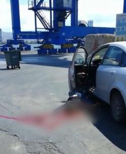 İzmir Limanı'nda korkunç ölüm
