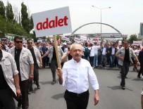 MALTEPE CEZAEVİ - Kılıçdaroğlu'nun yürüyüşü Alman basınında
