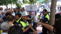 TRAFİK POLİSİ - Manisa'da Şehir Merkezini Karıştıran Gözaltı