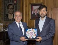 ATATÜRK ÜNIVERSITESI - ÖNDER Başkanı Halit Bekiroğlu, Rektör Çomaklı'yı Ziyaret Etti
