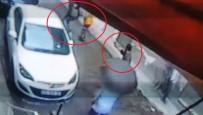 TEMİZLİK İŞÇİSİ - Sokak Ortasında Silahlı Saldırı Açıklaması 1 Yaralı