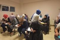 MESLEK EDİNDİRME KURSU - Suriyeliler Türkçe Öğreniyor