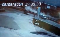 UZUNTARLA - 5 Kişinin Yaralandığı Kaza Kamerada