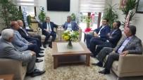 ŞEKER FABRİKASI - AK Parti İl Teşkilatı Ve Taner Yıldız'dan Başkan Akay'a Tebrik