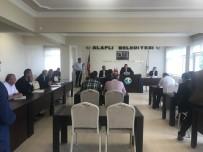 TEMİZLİK ARACI - Alaplı Belediye Meclis Toplantısı Tamamlandı