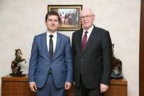 SOSYAL DEMOKRAT - Alpu Kaymakamı Ömer Özbay, Başkan Kurt'u Ziyaret Etti