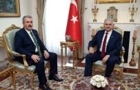 BÜYÜK BIRLIK PARTISI GENEL BAŞKANı - Başbakan Yıldırım, BBP Genel Başkanı Destici'yi Kabul Etti