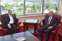 EBRU SANATı - Başkan Albayrak, Kırklareli Ve Trakya Üniversiteleri Rektörlerini Ziyaret Etti