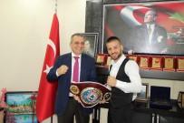 Başkan Sağıroğlu Avrupa Şampiyonu'nu Ağırladı