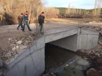 İSTİNAT DUVARI - Beyşehir'de İki Yeni Köprü Sevinci