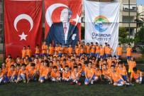 TÜRKAN SAYLAN - Çukurova'da Futbol Yaz Okulu Açıldı