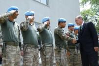 NAKKAŞ - Cumhurbaşkanı Erdoğan'dan Askeri Tabura Ziyaret